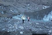 Outlet glacier in Thorsmökr Valley