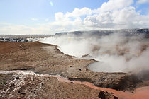 Geothermal areas are in abundance at the Reykjanes Peninsula