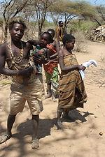 Busk men in Tanzania,  2011