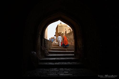 Temple Alleyway of Ranthambore