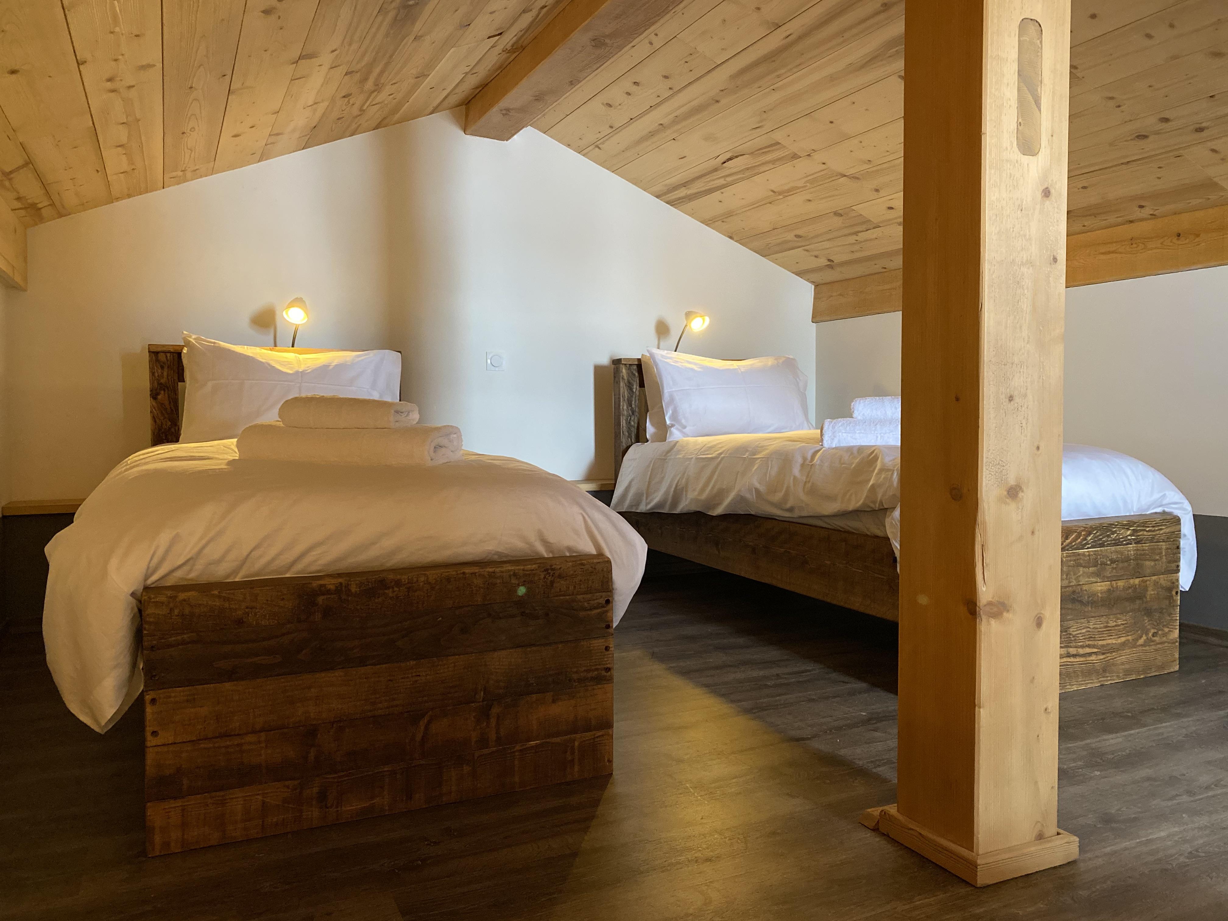 Twin Bedroom in Loft