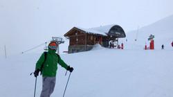 Top of Le Bettex Ski Lift