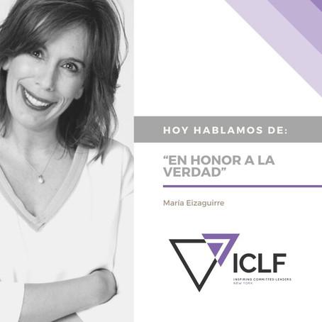 """""""En honor a la verdad"""" , por María Eizaguirre"""