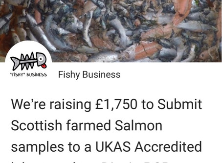 Crowdfunding for Salmon Analysis!