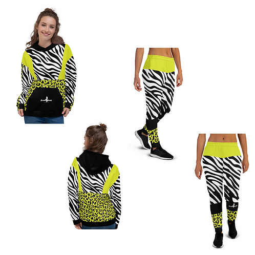 "Incredibooty™ ""Ze-Le Mix"" Athletic Sweatsuit Matching Set"