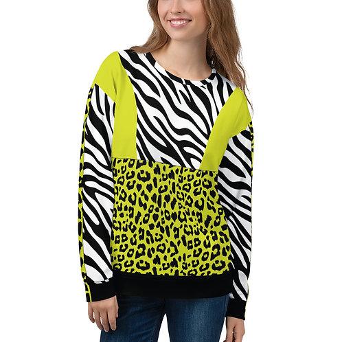 """Incredibooty™ """"Ze-Le Mix"""" Athletic Sweatshirt"""
