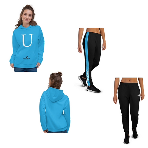 "Incredibooty™ ""Unique"" Athletic Sweatsuit Matching Set"