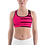 """Thumbnail: Incredibooty™ """"Fearless Pink"""" Athletic Sports Bra"""