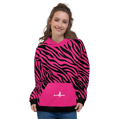 "Incredibooty™ ""Zebraz"" Athletic Hoodie"