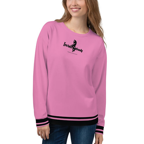 "Incredibooty™ ""PINK LOGO"" Athletic Sweatshirt"
