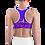 "Thumbnail: Incredibooty™ ""Blurple"" Athletic Sports Bra"