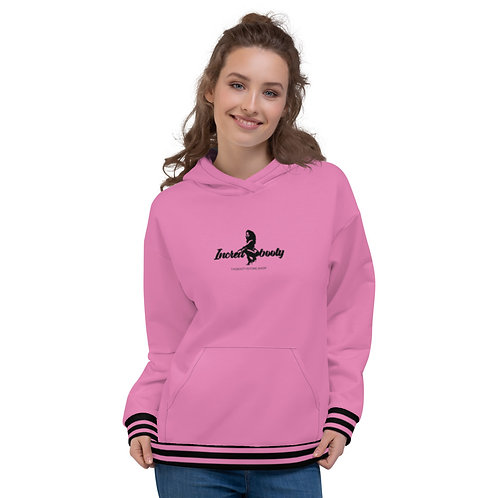 "Incredibooty™ ""PINK LOGO"" Athletic Hoodie"
