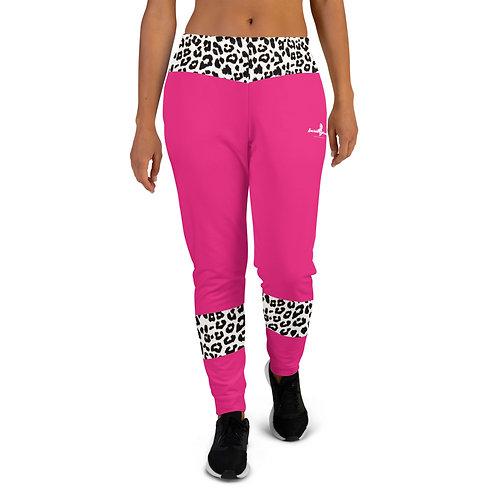 "Incredibooty™ ""Leopard Splash"" Athletic Sweatpants"