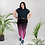 "Thumbnail: Incredibooty™ Plus Size ""Boldly Beautiful"" Premium 2pc Leggings Set"