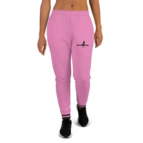 "Incredibooty™ ""Pink LOGO"" Athletic Sweatpants"