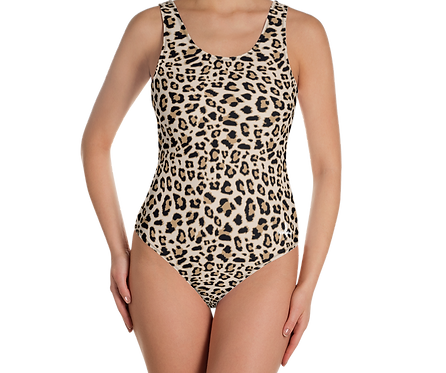Incredibooty™ One Piece Swimsuit| Leopard