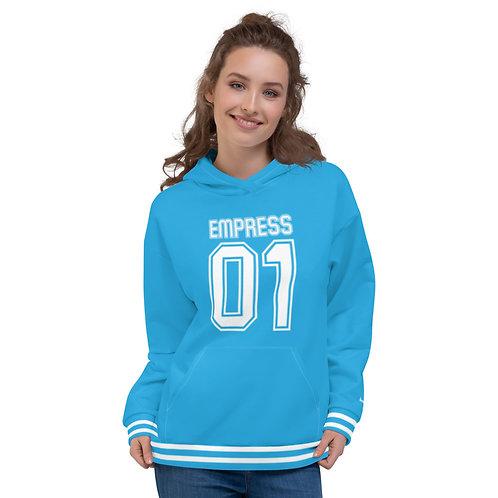 """Incredibooty™ """"Empress 01"""" Athletic Hoodie"""