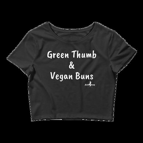 Incredibooty™ Specialty | Vegan Buns PREMIUM Cropped Shirt