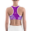 "Thumbnail: Incredibooty™ ""Purple Magic"" Athletic Sports Bra"