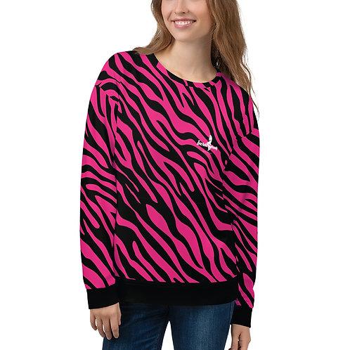 """Incredibooty™ """"Zebraz"""" Athletic Sweatshirt"""
