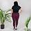 "Thumbnail: Incredibooty™ ""Cranberry Kaleidoscope"" Premium Plus Size Leggings"