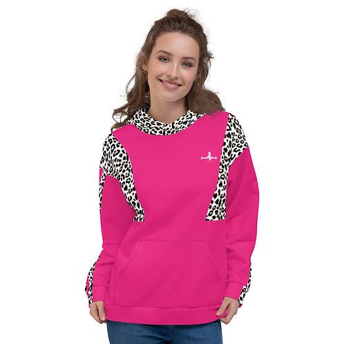 """Incredibooty™ """"Leopard Splash"""" Athletic Hoodie"""