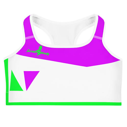 "Incredibooty™ ""Highlight"" Athletic Sports Bra"