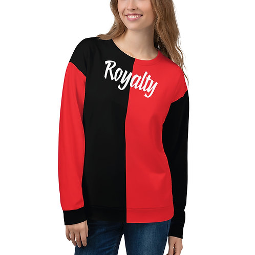 "Incredibooty™ ""Royalty"" 2 Toned Athletic Sweatshirt"