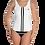 Thumbnail: Incredibooty™ One Piece Swimsuit| Black & White