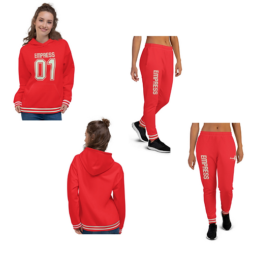 "Incredibooty™ ""Empress"" Athletic Sweatsuit Matching Set"