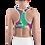 "Thumbnail: Incredibooty™ ""Mean Green"" Athletic Sports Bra"