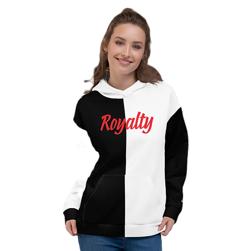 "Incredibooty™ ""Royalty"" 2 Toned Athletic Hoodie"