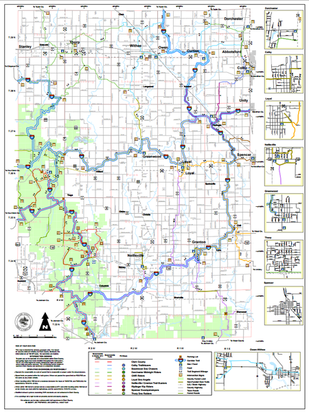 Clark County Trail Map