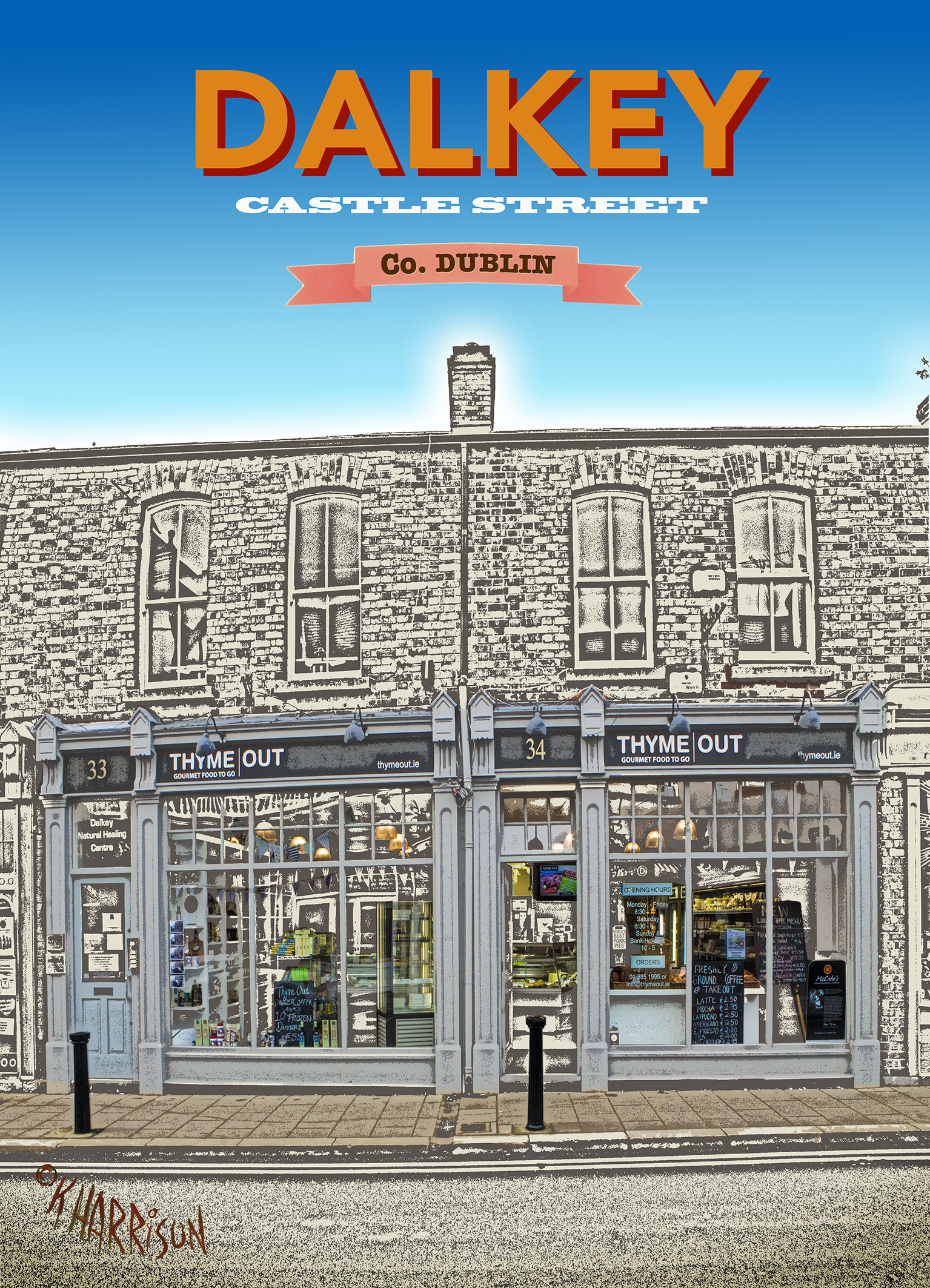 Discover Dalkey - Thyme Out 5x7