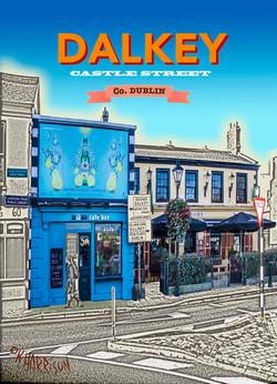 Discover Dalkey - Muggs Cafe 5x7