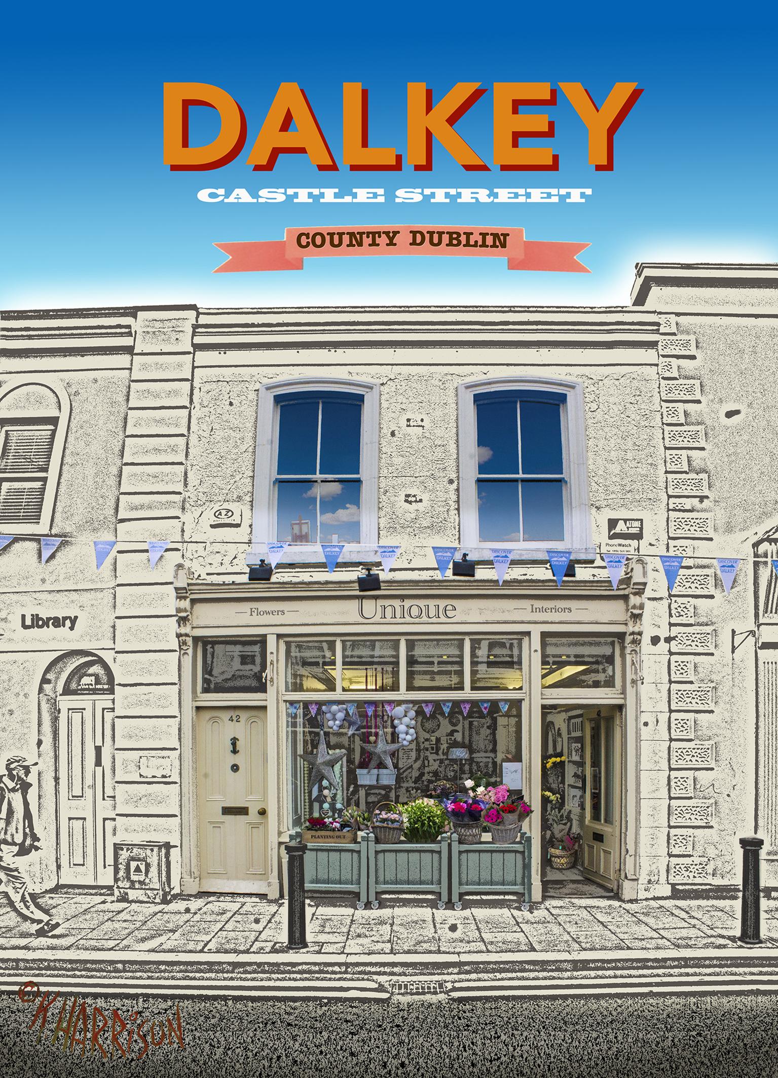 Discover Dalkey -UNIQUE 5x7