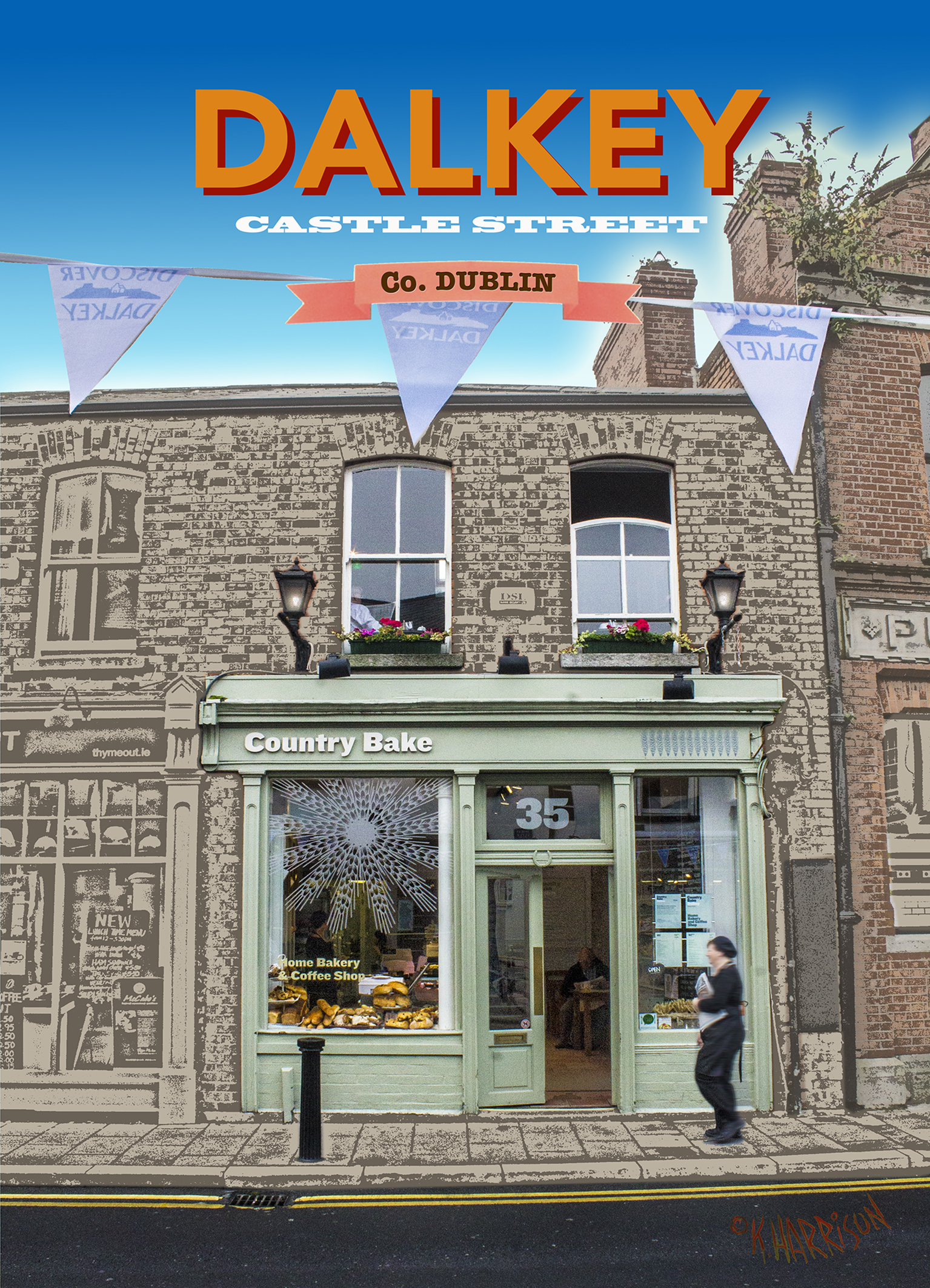 Discover Dalkey - Country Bake 5x7