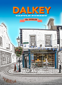 Discover Dalkey -Roberts 5x7
