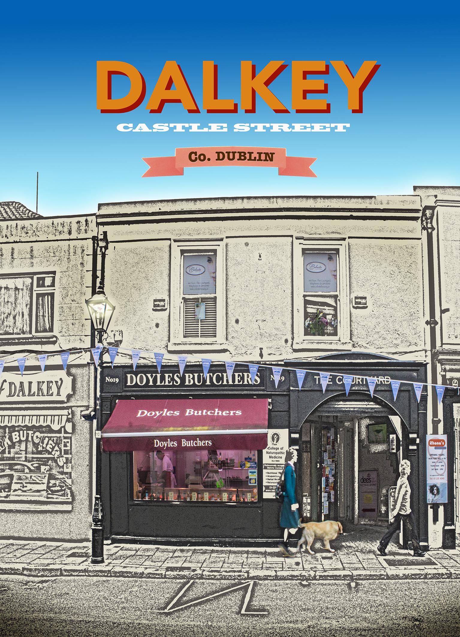 Discover Dalkey - Doyles Butchers 5x7