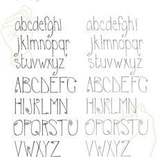 Birdcage Typeface