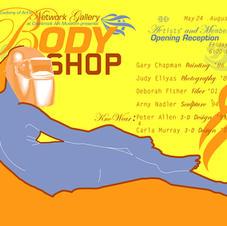 Body Shop Postcard