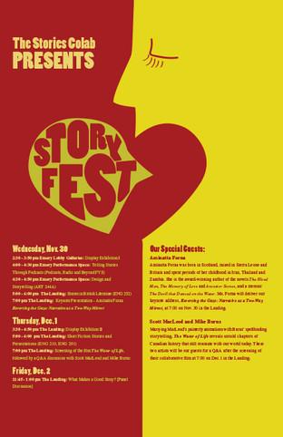 Storyfest Poster