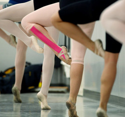 Kinesio tape in dance