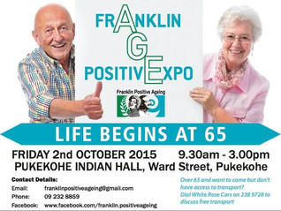 Franklin Positive Aging Expo