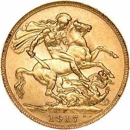 Gold British Sovereign