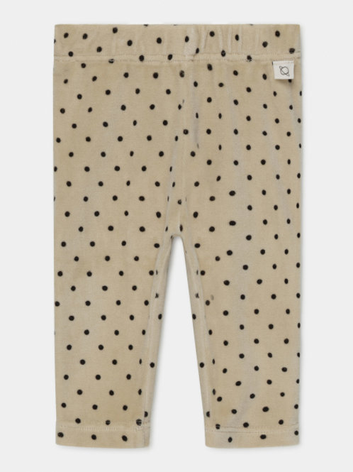 organic baby leggings dots