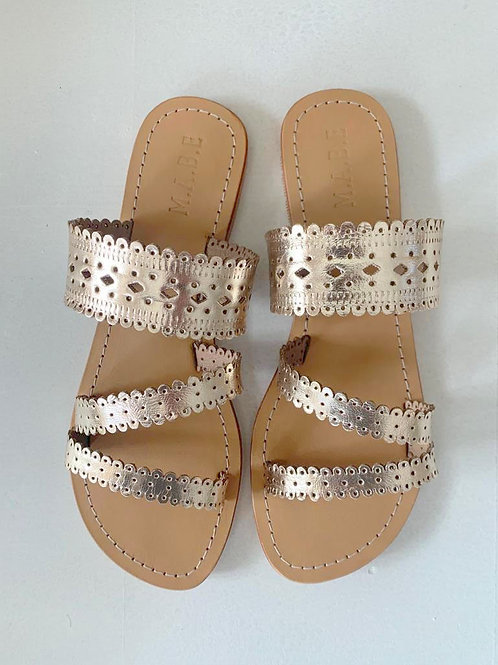 MABE slippers goud