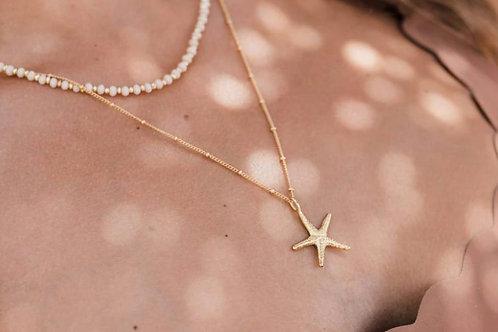 Big starfish necklace