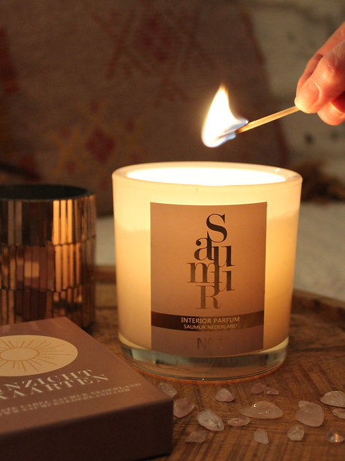 SAUMUR PRIVATE LABEL CANDLE WHITE