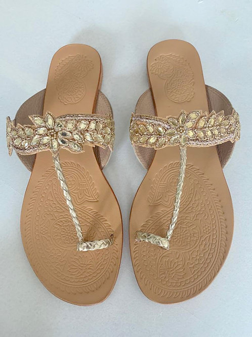 MABE slippers met glitters